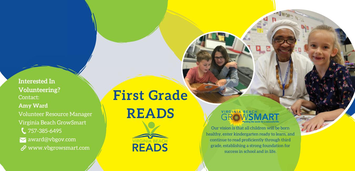 First Grade Reads Volunteers